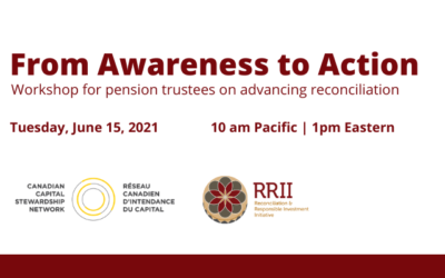 RRII & CCSN: Workshop for Pension Trustees