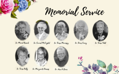 Memorial Service Tuesday, August 3rd, 2021