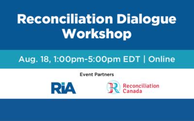 Reconciliation Dialogue Workshop